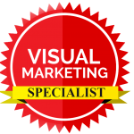 Visual Marketing Specialist badge